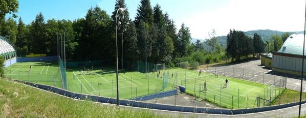 Tennis Camp Lizzano - Struttura